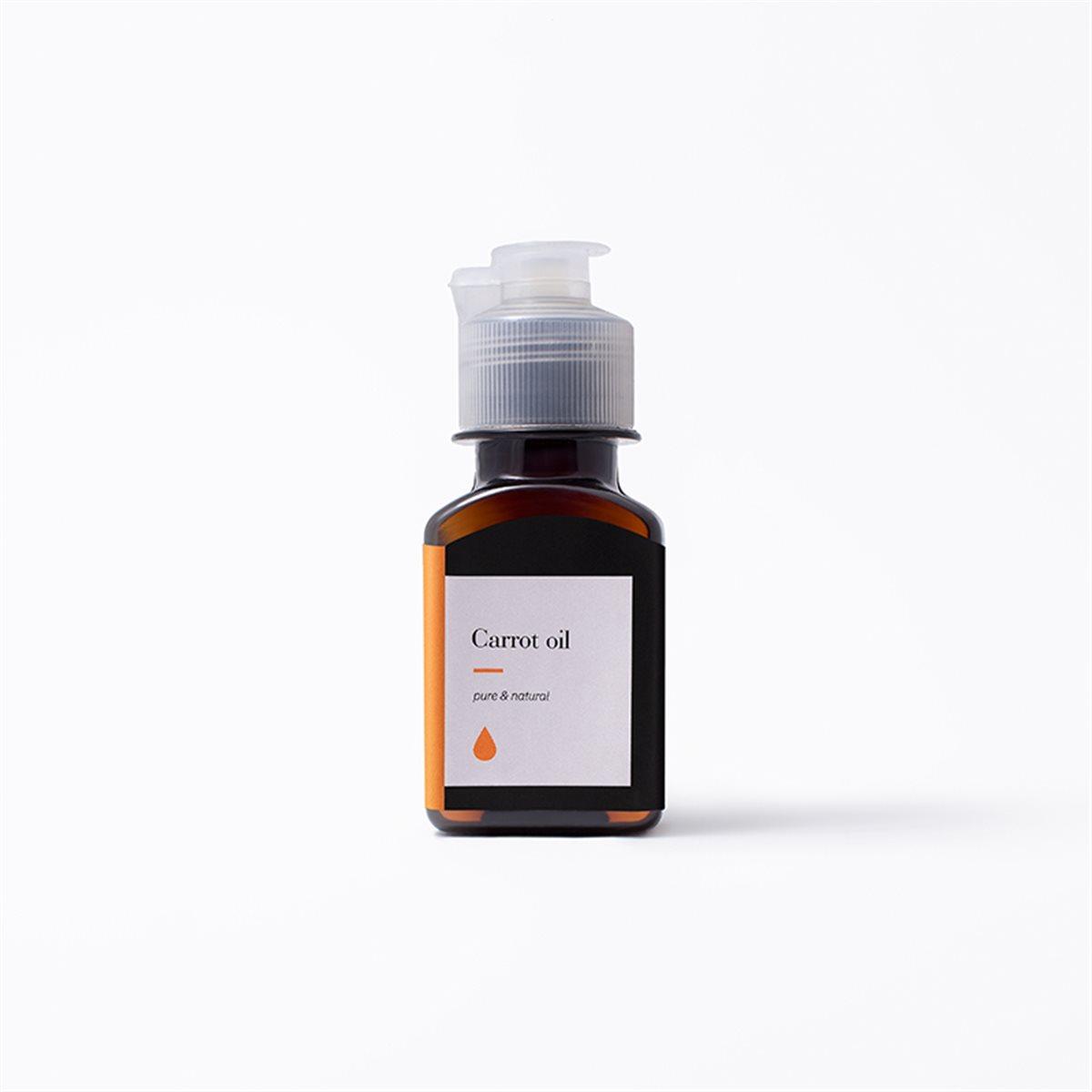 روغن هویج خالص زیمالب با جذب بالا برای برنزه شدن طبیعی و رطوبت پوست